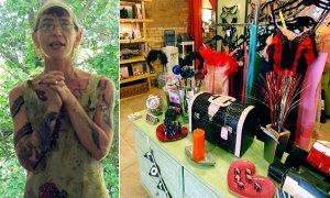 Starri Hedges and Smitten Kitten Store