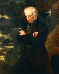 "William Wordsworth (1770-1850) - English Romantic Poet. Britain's Poet Laureate from 1843 until his death. Most Notable Poem ""I Wandered Lonely As A Cloud."""