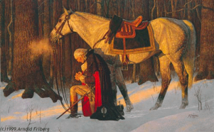 Prayerful George Washington